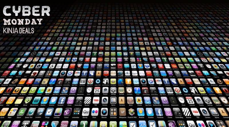 'The Best Cyber Monday App Deals' from the web at 'http://i.kinja-img.com/gawker-media/image/upload/s--2MIEp8g6--/c_scale,fl_progressive,q_80,w_800/ewcmrog4t4cbi5yuu5fk.jpg'