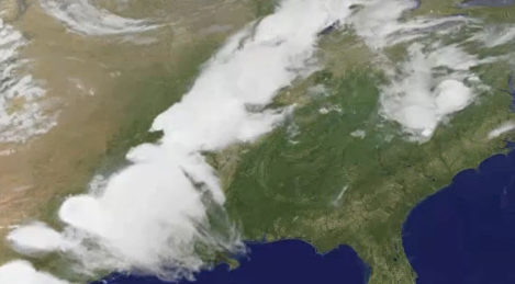 What Five Days of Deadly Tornadoes Looked Like From Space