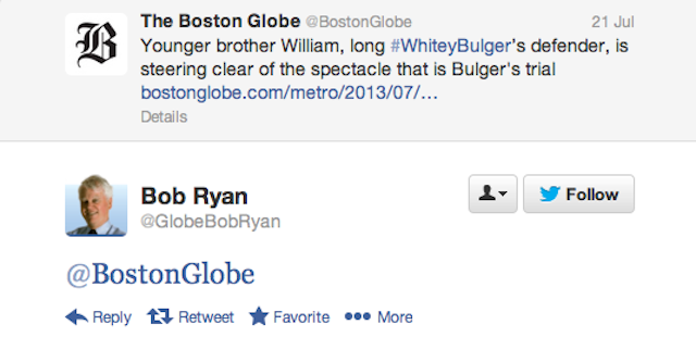 Bob Ryan's Twitter Account Is An Exercise In Muted Despair
