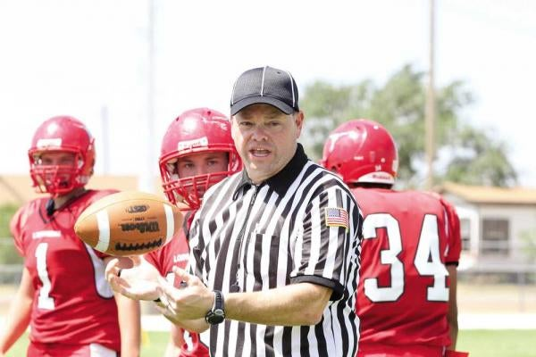This Replacement Ref Is Used To Working Six-Man Football