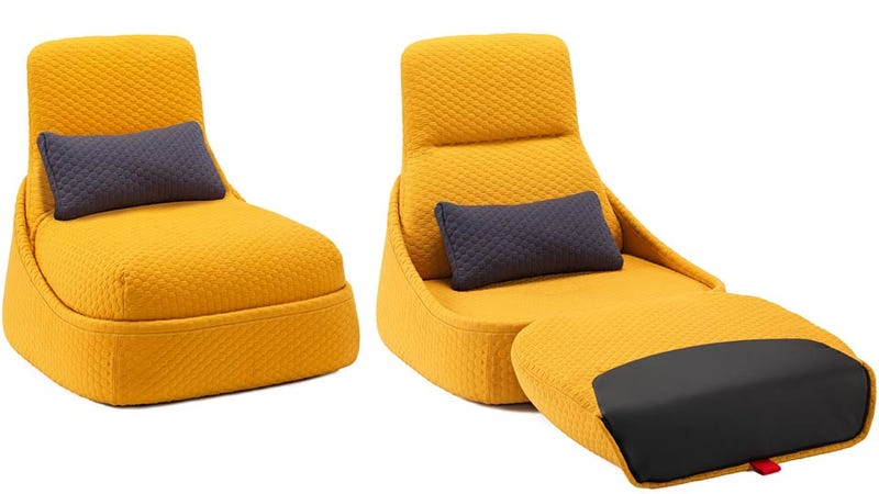 Cord Conquering Convertible Lounger Might Be the Comfiest Home Office Ever
