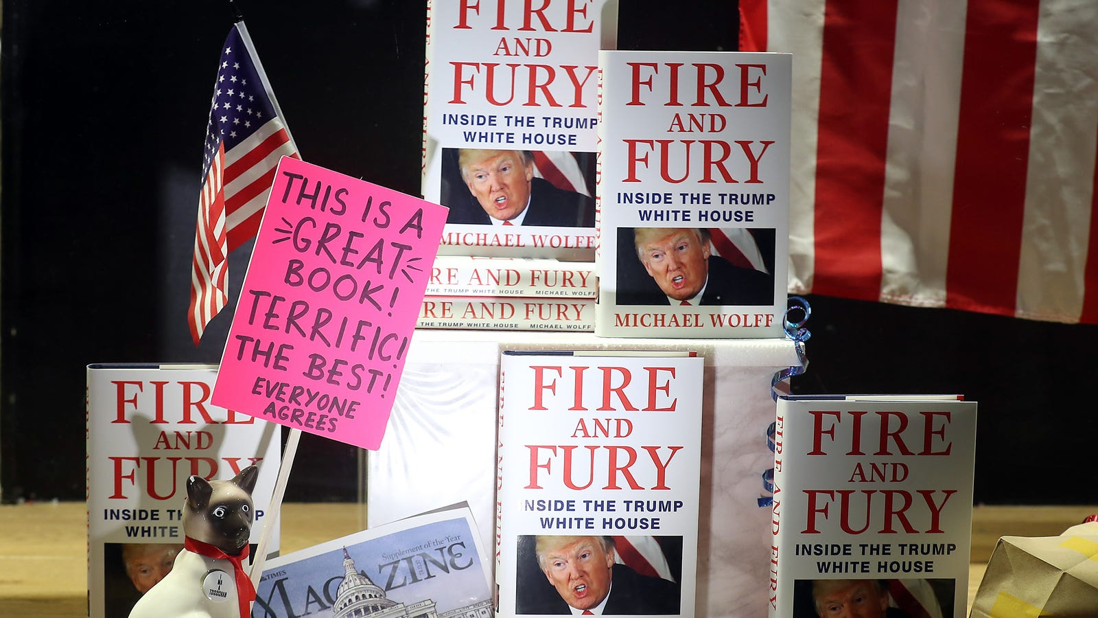 Fire And Fury doesn't tell us anything we don't already know—and that's why it's important
