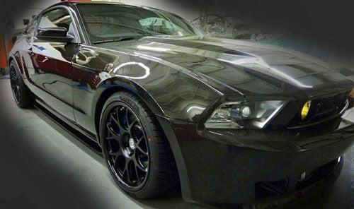 Mustang RTR-C: A $135,000 Carbon Fiber Super-'Stang