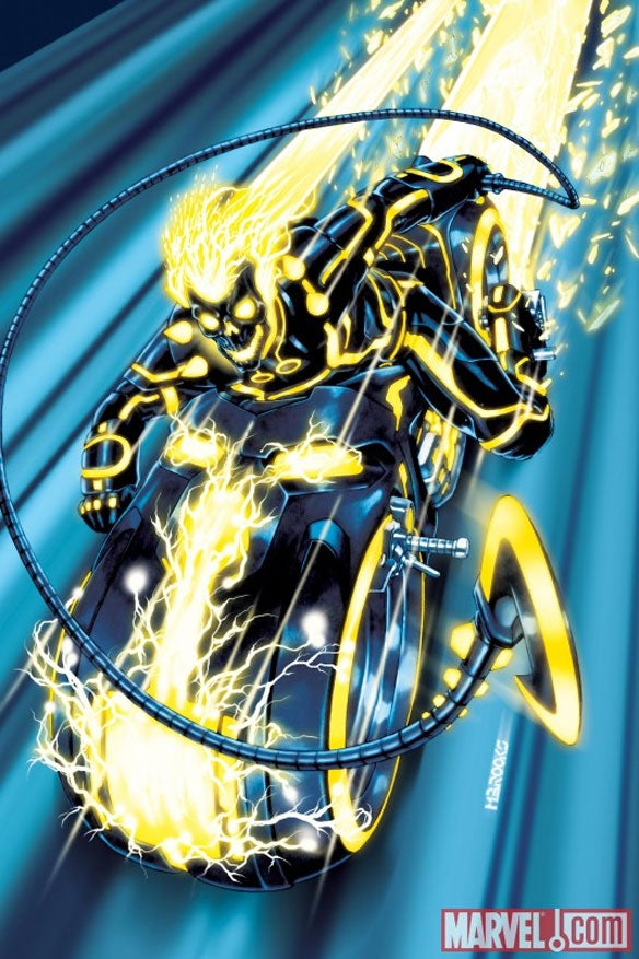 What if Iron Man, Captain America, and Thor starred in Tron?