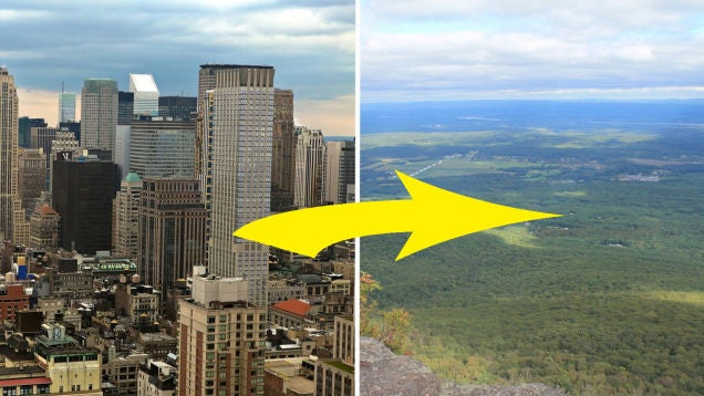 Getting Outdoors From New York Just Got Easier