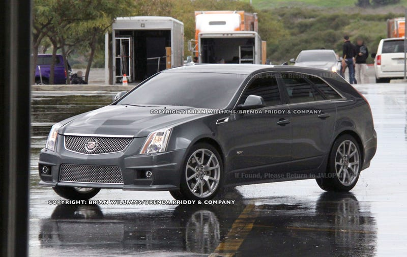 Cadillac CTS-V Wagon: Bigger, Longer And More Uncut