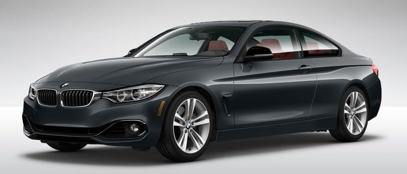 The BMW 4 Series Configurator is up!