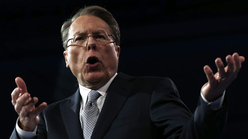 NRA CEO Wayne LaPierre Needs to Stop Pretending He Gives a Shit About Rape Victims