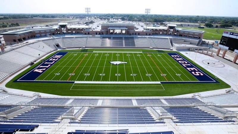 This Is What A $60 Million High School Football Stadium Looks Like