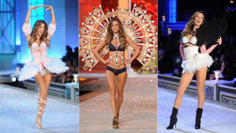 Alessandra Ambrosio Is Pregnant (And Walked The Victoria's Secret Show Anyhow)