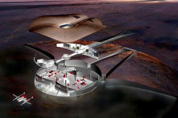 World's First Spaceport Designed, Construction Starts 2008