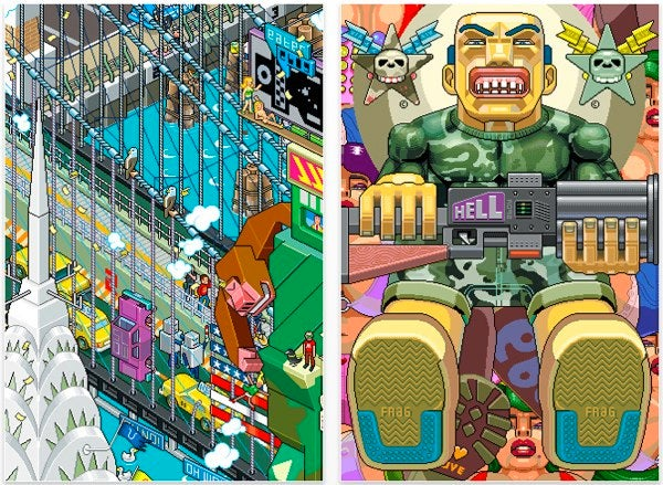 eBoy's FixPix iPhone Game Now Available and Outrageously Addictive