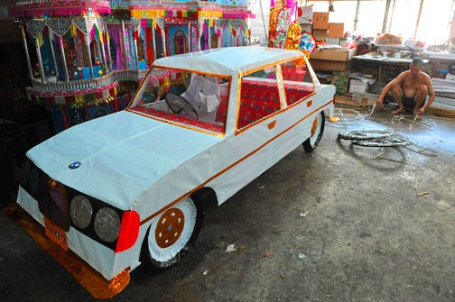 Paper BMW To Be Burned In Effigy For Dead Pricks