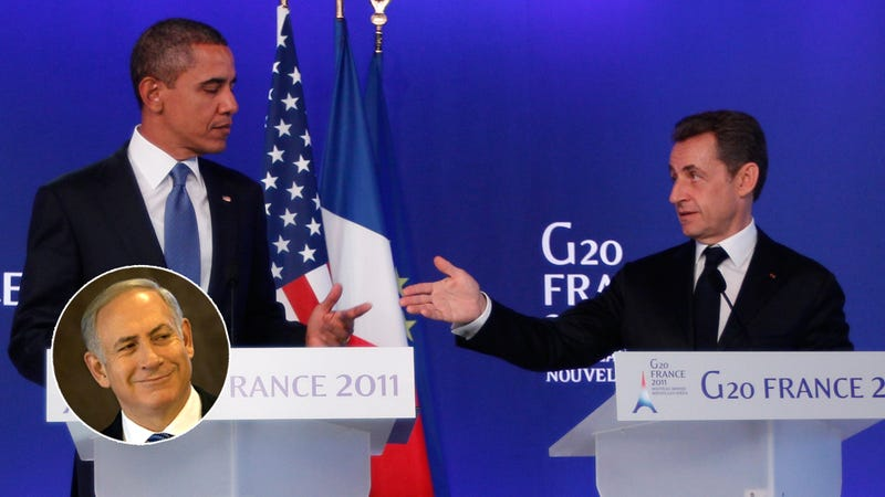 Obama, Sarkozy Caught Bitching About Israeli PM