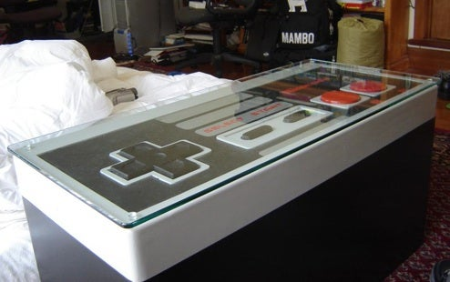 NES Controller Mod, May Just be Most Fun Coffee Table Ever