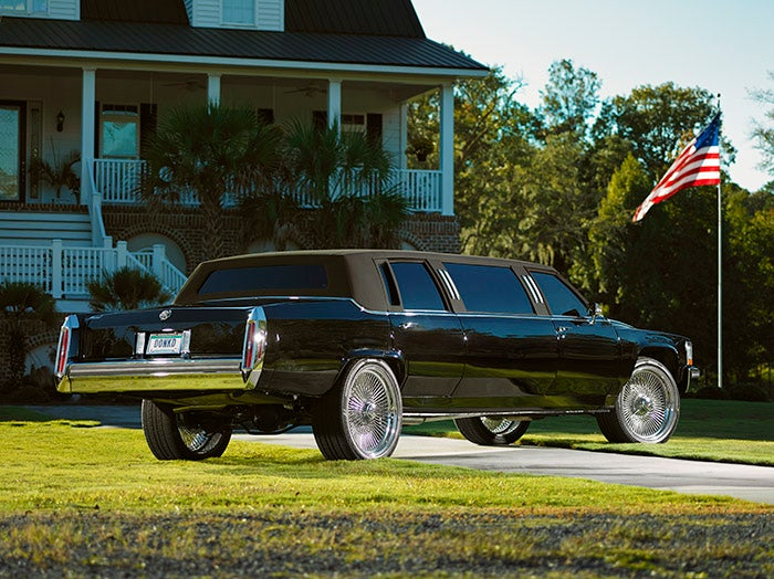 The World's Most Expensive 1987 Cadillac Donk Limo
