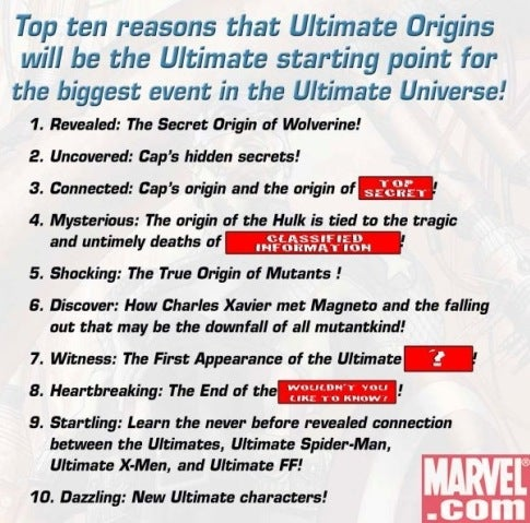 Marvel Tries Ultimate Rebranding