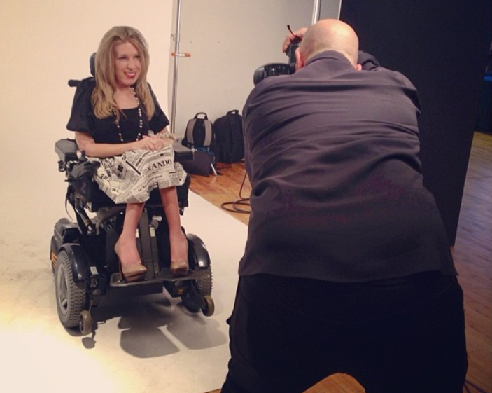 First-Ever Model in Wheelchair Featured at New York Fashion Week