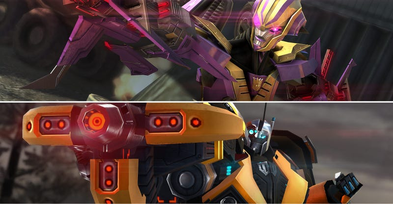 Meet The First Exclusive Bots To Battle In Transformers Universe