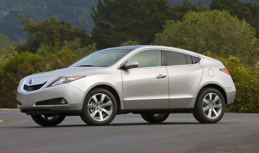 2010 Acura ZDX: Look Kidz, Another Crossover