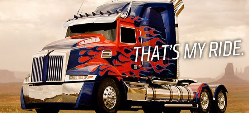 You Can Ride In Optimus Prime On Uber