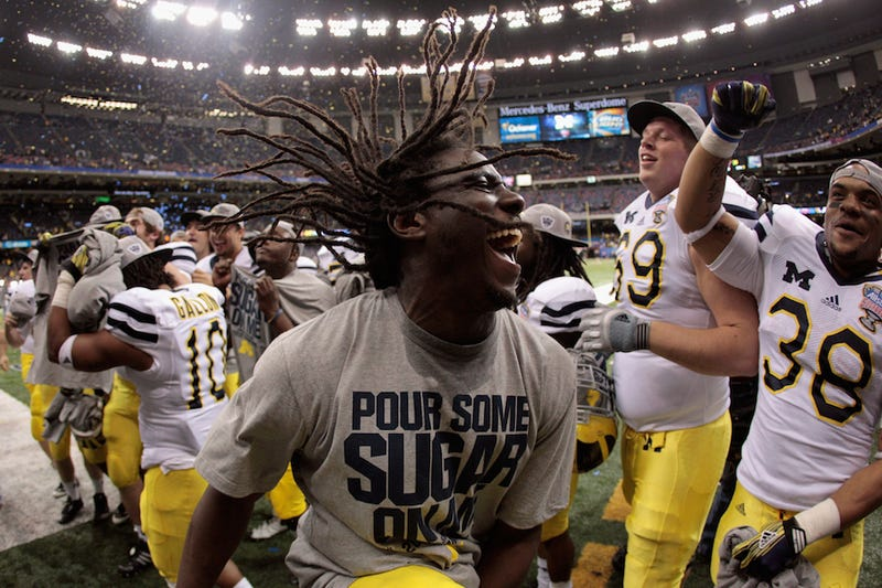 Denard Robinson Thinks He Can Beat Usain Bolt In A Race