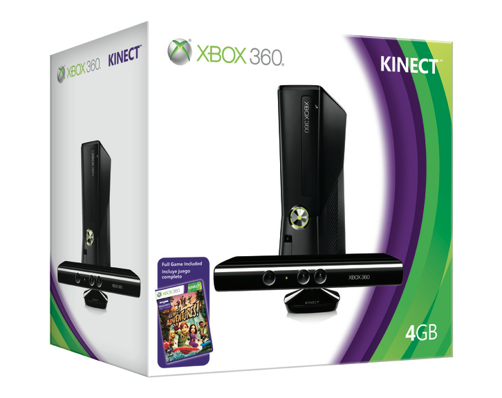 New Xbox 360 Model Hits Next Month, Kinect Bundle Confirmed
