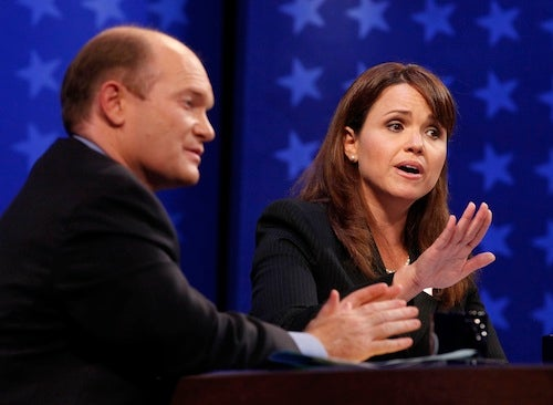 How Did Christine O'Donnell's First Debate Go?