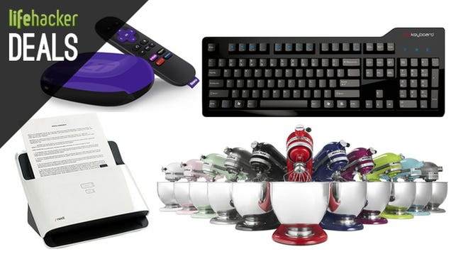 The Clickiest Keyboard, A Roku For Any Budget, NeatDesk Scanners