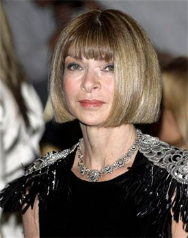 'Vogue' Editor Anna Wintour: Not Exactly Playing Against, Uh, 'Type'