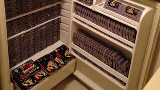 A Fridge Full Of<i> Jurassic Park</i> Games Is Good eBay