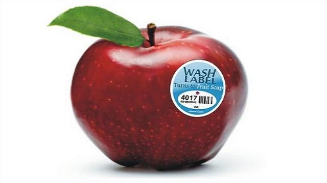 Introducing the self-washing fruit