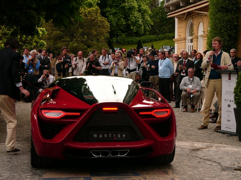 The $2 Million Showdown: Bertone Mantide vs. Corvette ZR1