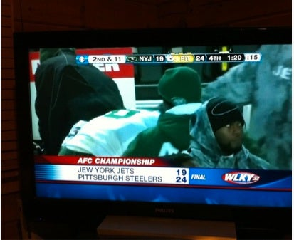 "Is It Better Or Worse That The ""Jew"" York Jets Typo Happened In Kentucky?"