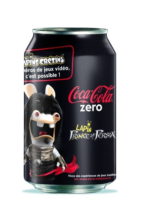 You've Got Raving Rabbids On My Coke Zero