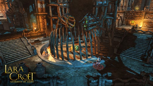 New Guardian of Light Screens: Lara Croft & Friend Double Team Huge Balls