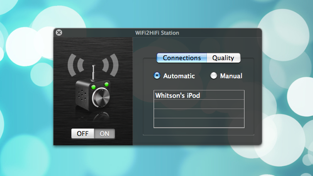 WiFi2HiFi Streams Any Audio From Your PC to iOS