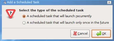 Schedule tasks in Linux with Gnome-schedule