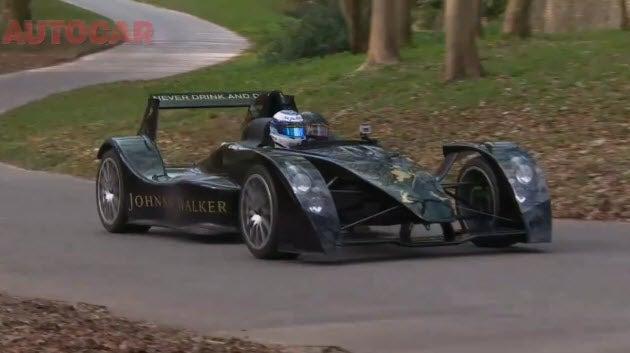 Video: Caparo T1 gets driven by Mika Hakkinen