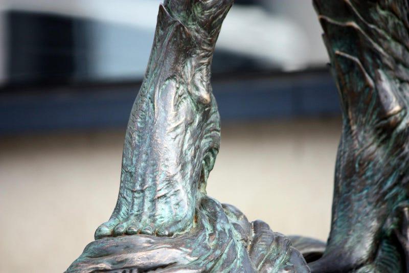 Freakin' Amazing StarCraft Statue Now Looms Outside Blizzard Office
