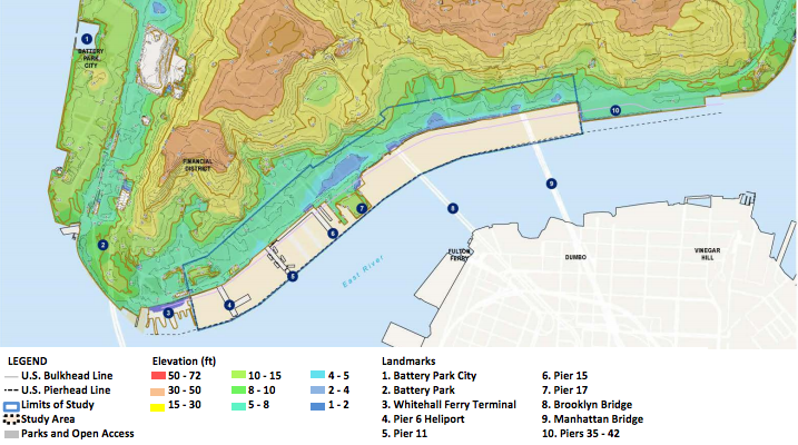 A Massive New Levee Could Add Two New City Blocks To Manhattan