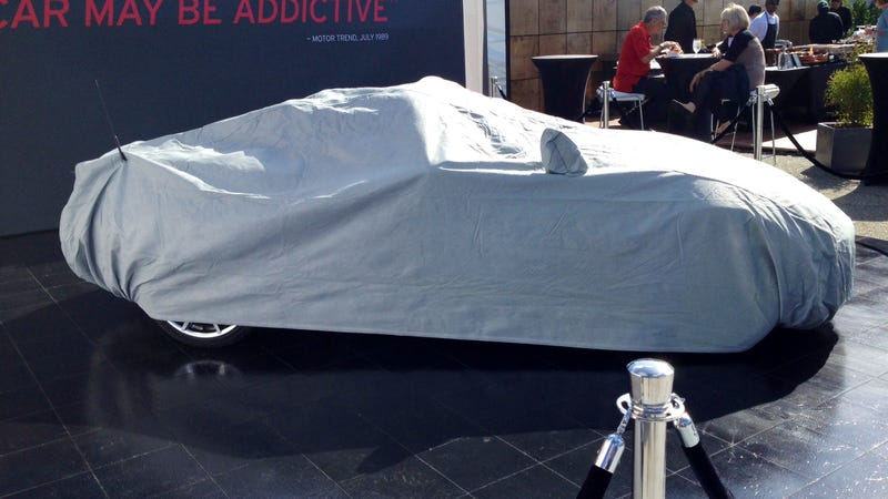 The 2016 Mazda Miata Is Beneath This Sheet