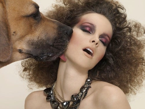 Must Love Dogs: Model Gets Awfully Cuddly With Pup In Canadian Boutique's Shoot