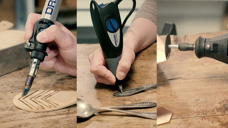 This Discounted Dremel Comes With a Soldering Torch and Engraving Tool