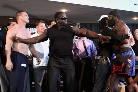 Kimbo Clashes With Ken Shamrock, Gina Carano Likely To Stay Clothed