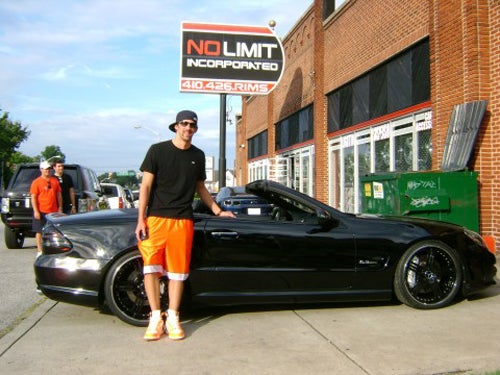 Michael Phelps' Soon-To-Be-Stolen Custom Mercedes