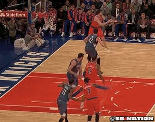 Andrea Bargnani Attempted A Reverse Dunk, And It Did Not Go Well