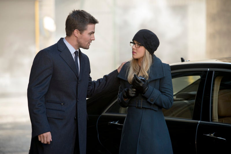 Who was the sexiest couple on last night's Arrow?