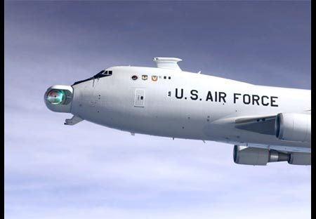 Airborne Laser Kicks Missile Ass