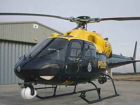 British Police Using High-Tech Helicopters To Catch Speeders, Yell At Them